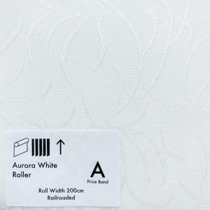 Aurora White Roller