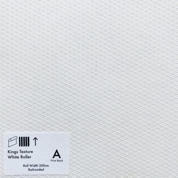 Kings Texture White Roller