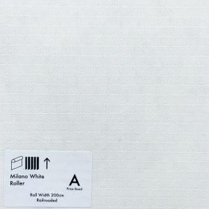 Milano White Roller