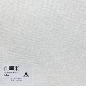 hampton White Roller